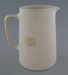 Jug - bisque; Crown Lynn Potteries Limited; 1945-1989; 2009.1.393