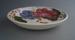 Soup bowl - Fleurette pattern; Crown Lynn Potteries Limited; 1959-1979; 2008.1.2601