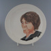 Dinner plate; Crown Lynn Potteries Limited; 1975-1989; 2009.1.968