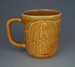 Mug - potter; Crown Lynn Potteries Limited; 1974-1984; 2008.1.2254