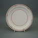 Dinner plate - Barclay pattern; Crown Lynn Potteries Limited; 1985-1989; 2008.1.116