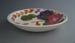 Soup bowl - Fleurette pattern; Crown Lynn Potteries Limited; 1959-1979; 2008.1.2599