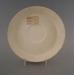 Saucer - bisque; Crown Lynn Potteries Limited; 1971-1989; 2009.1.1271