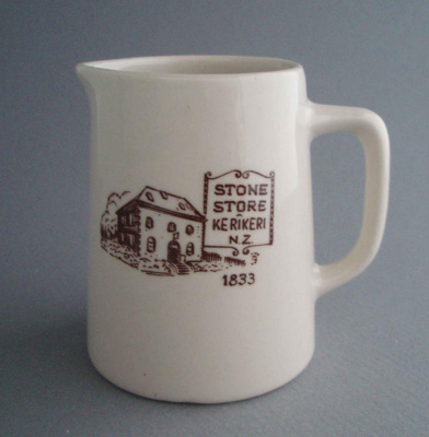 Jug - Stone Store; Crown Lynn Potteries Limited; 1970-1989; 2008.1.909