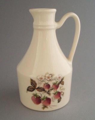 Oil bottle; Titian Potteries (1965) Limited; 1978-1989; 2008.1.921
