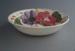 Bowl - Fleurette pattern; Crown Lynn Potteries Limited; 1959-1979; 2008.1.2602