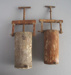Two clay extruders; Crown Lynn Potteries Limited; 1950-1980; 2009.1.1751.1-2