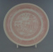 Dinner plate - trial; Crown Lynn Potteries Limited; 1983-1989; 2009.1.315