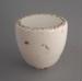 Cupboard or door handle - Heritage pattern; Crown Lynn Potteries Limited; 1976-1989; 2009.1.2000