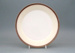 Dinner plate - banded; Crown Lynn Potteries Limited; 1982-1983; 2008.1.114