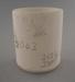 Mug - bisque; Crown Lynn Potteries Limited; 1977-1987; 2009.1.846
