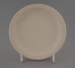 Bread and butter plate - bisque; Crown Lynn Potteries Limited; 1970-1989; 2009.1.269