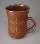 Mug - Viking boat; Luke Adams Pottery Limited; 1970-1980; 2008.1.2261