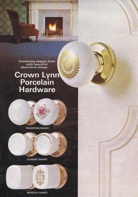 Brochure - Crown Lynn porcelain hardware; Crown Lynn Potteries Limited; 1976-1980; 2008.1.1266
