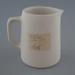 Jug - bisque; Crown Lynn Potteries Limited; 1945-1989; 2009.1.390