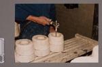 Photograph - Filling of jug casting mould; Post 1967; 2008.1.2980