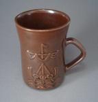 Mug - Viking boat; Luke Adams Pottery Limited; 1970-1980; 2008.1.2262