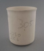 Mug - bisque; Crown Lynn Potteries Limited; 1984-1989; 2009.1.852
