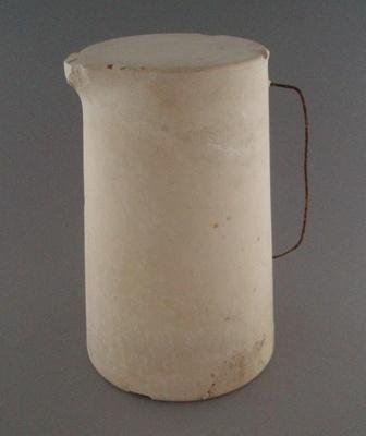 Plaster model - jug; Crown Lynn Potteries Limited; 1948-1989; 2008.1.2678