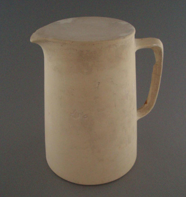 Plaster model - jug; Crown Lynn Potteries Limited; 1948-1989; 2008.1.2677