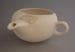 Hospital feeder mug - bisque; Crown Lynn Potteries Limited; 1964-1974; 2009.1.102