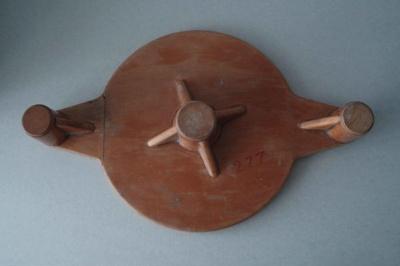 Wooden patterns; Unknown; 1940-1970; 2010.1.78.1-4
