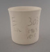 Cup - bisque; Crown Lynn Potteries Limited; 1976-1989; 2009.1.847