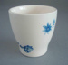 Egg cup - Hanover pattern; Crown Lynn Potteries Limited; 1960-1975; 2008.1.157