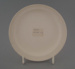 Bread and butter plate - bisque; Crown Lynn Potteries Limited; 1976-1989; 2009.1.280