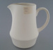 Jug - bisque; Crown Lynn Potteries Limited; 1982-1989; 2009.1.387