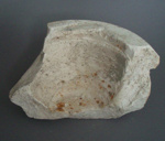 Slipcasting mould fragment - mixing bowl; Crown Lynn Potteries Limited; 1955-1980; 2009.1.134