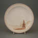 Dinner plate - trial; Crown Lynn Potteries Limited; 1981-1989; 2008.1.113