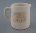 Jug - bisque; Crown Lynn Potteries Limited; 1945-1989; 2009.1.389