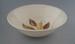 Salad bowl - Golden Fall pattern; Crown Lynn Potteries Limited; 1959-1975; 2009.1.915