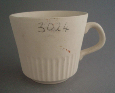 Cup - bisque; Crown Lynn Potteries Limited; 1969-1989; 2008.1.1252