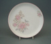 Luncheon plate - Jasmine flower pattern; Crown Lynn Potteries Limited; 1988-1989; 2008.1.95