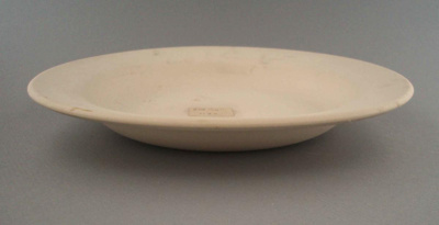 Bowl - bisque; Crown Lynn Potteries Limited; 1960-1980; 2009.1.1335