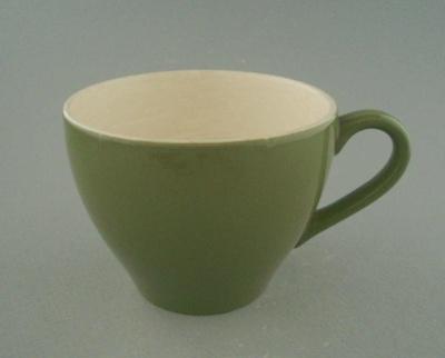 Cup - Colour glaze; Crown Lynn Potteries Limited; 1965-1975; 2009.1.996