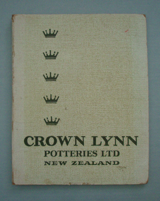 Price list; Crown Lynn Potteries Limited; 1966; 2008.1.1264