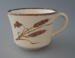 Cup - Winter Wheat pattern; Crown Lynn Potteries Limited; 1981-1989; 2009.1.631