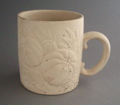 Mug - bisque; Titian Potteries (1965) Limited; 1974-1985; 2008.1.2344