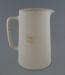 Jug - bisque; Crown Lynn Potteries Limited; 1945-1989; 2009.1.394