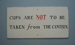 Instructional sign - canteen; Unknown; 1950-1989; 2009.1.809