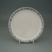 Luncheon plate - Avondale pattern; Crown Lynn Potteries Limited; 1987-1988; 2008.1.105