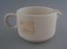 Jug - bisque; Crown Lynn Potteries Limited; 1978; 2009.1.329