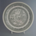 Dinner plate - trial; Crown Lynn Potteries Limited; 1983-1989; 2009.1.312