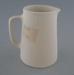 Jug - bisque; Crown Lynn Potteries Limited; 1945-1989; 2009.1.391