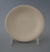 Butter pat - bisque; Crown Lynn Potteries Limited; 1964-1980; 2009.1.1268