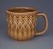 Mug - geometric; Titian Potteries (1965) Limited; 1975-1985; 2008.1.2252