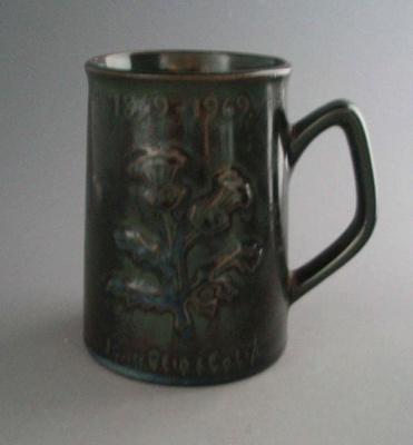 Beer mug - John Reid & Co. Ltd; Luke Adams Pottery Limited; 1969-1970; 2008.1.1275